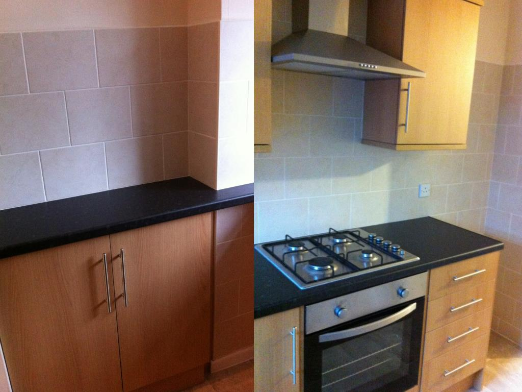 Ksw services photo gallery penwortham preston for Small fitted kitchens