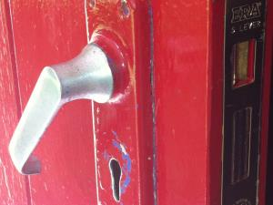 Photo - Emergency mortice lock change for a customer's back door in Chorley, Lancashire