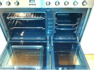 Oven Cleaning (3 of 3) - The gleaming finished result, leaving the customer in St Annes with a cooker that looks almost new