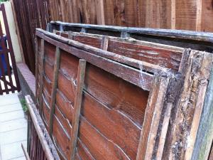 Fence Panels (1 of 2) - We'll take your old fence panels away and dispose of them for you when we replace them