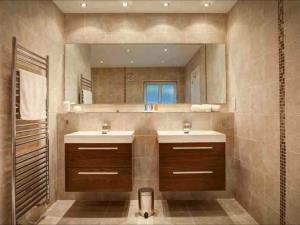 Hotel Bathrooms - One of a number of luxurious en-suite bathrooms installed for a hotel in the Lake District