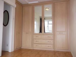 Fitted Wardrobes - Installed to the bedroom of a Penwortham household, including laminate flooring